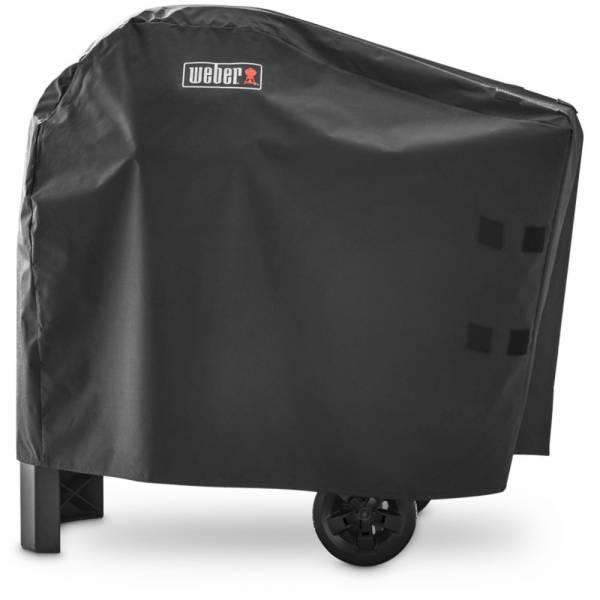 Weber Premium Abdeckhaube Für den Pulse 1000/2000 mit Rollwagen