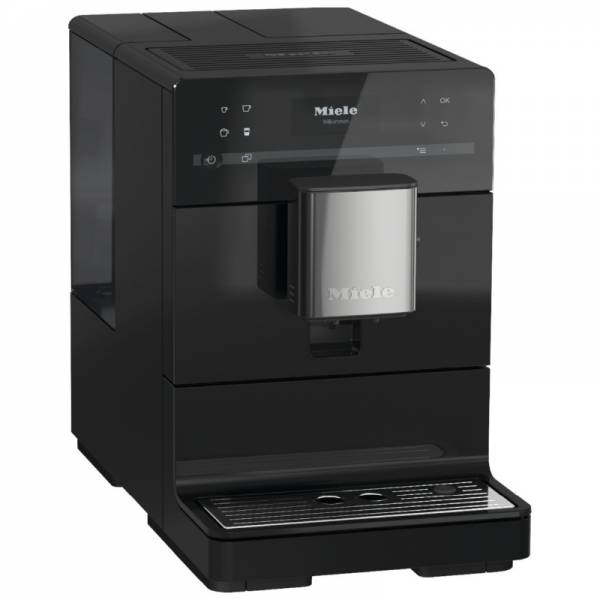 Miele Kaffeevollautomat Schwarz Abgewinkelt (CM 5310 OBSW)