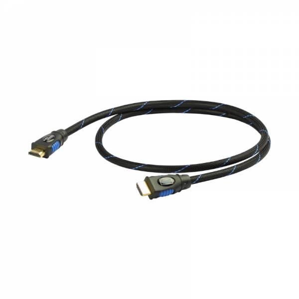 Black Connect HDMI Kabel Schwarz (HDMI MK II)