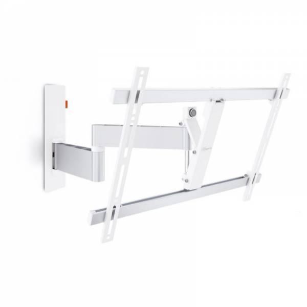 Vogels TV-Wandhalterung Weiß Front (WALL 3345)
