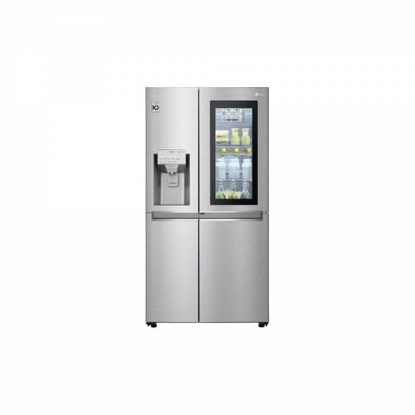 LG GSX960NECE Kühl-Gefrier-Kombination InstaView Angeschaltet