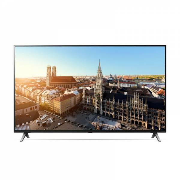 LG Fernseher Front mit Bild Schwarz (55SM8500PLA)