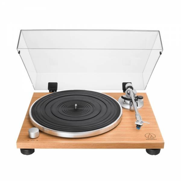 Audio-Technica AT-LPW30TK Plattenspieler Teak-Optik Front