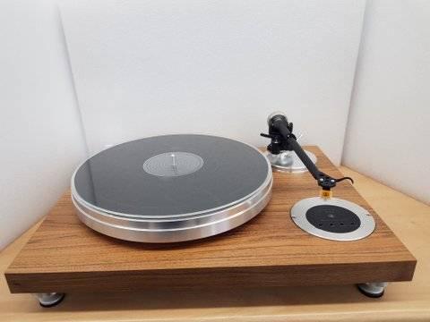 Solid 113 mit Nagaoka MP 110 Tonabnehmer (Plattenspieler)