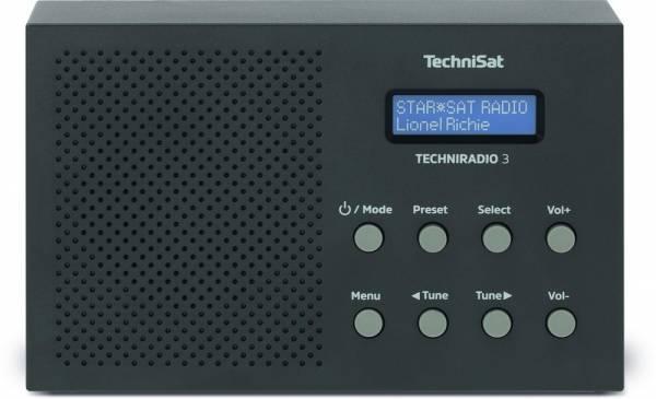 TECHNIRADIO 3 (UKW / RDS, Uhr, Wecker, Sleeptimer, Snooze)