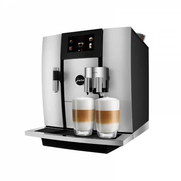 Jura Kaffeevollautomat Aluminium Abgewinkelt Links (GIGA 6 Aluminium)