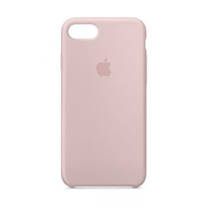 iPhone 8 Silikon Case pinksand
