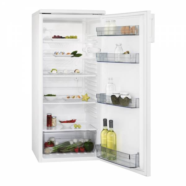 AEG RKB424F1AW Kühlschrank Weiß Front Offen