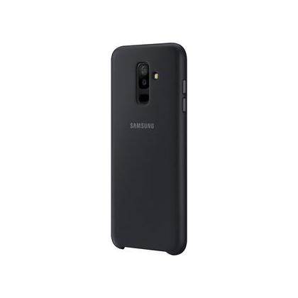 EF-PA605 Dual Layer Cover für Galaxy A6+ schwarz