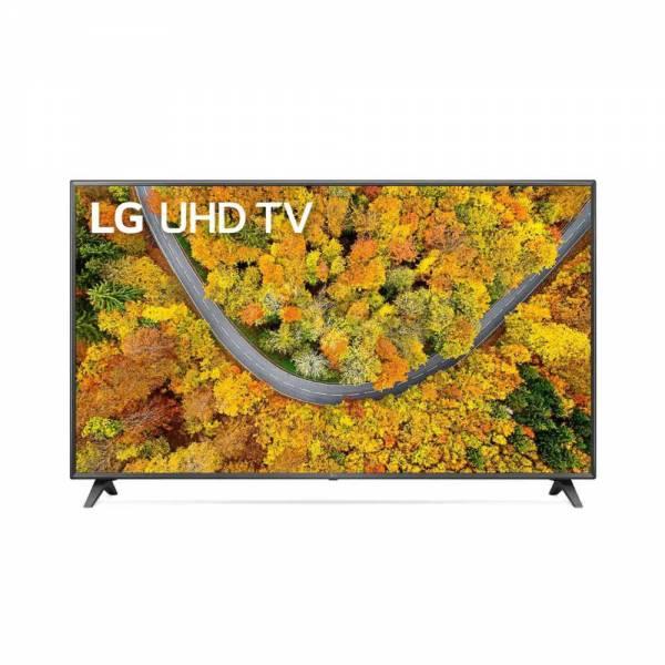 LG 75UP75009LC Fernseher Schwarz Front