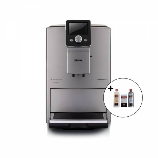 CafeRomatica 821 Titan incl. Reinigungset (Kaffeevollautomat)