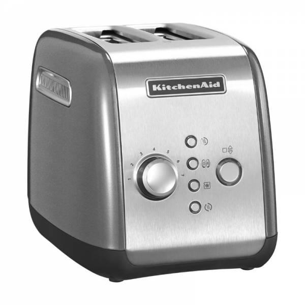 KitchenAid Toaster Front Silber (5KMT221ECU)