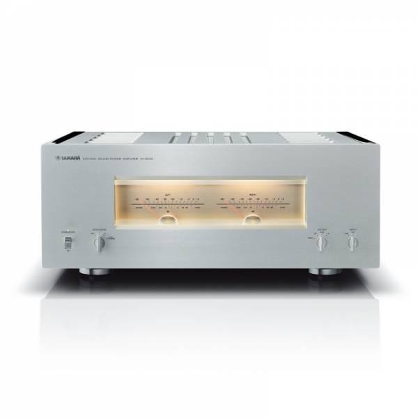 Yamaha Verstärker Front Silber/Piano Schwarz (M-5000)