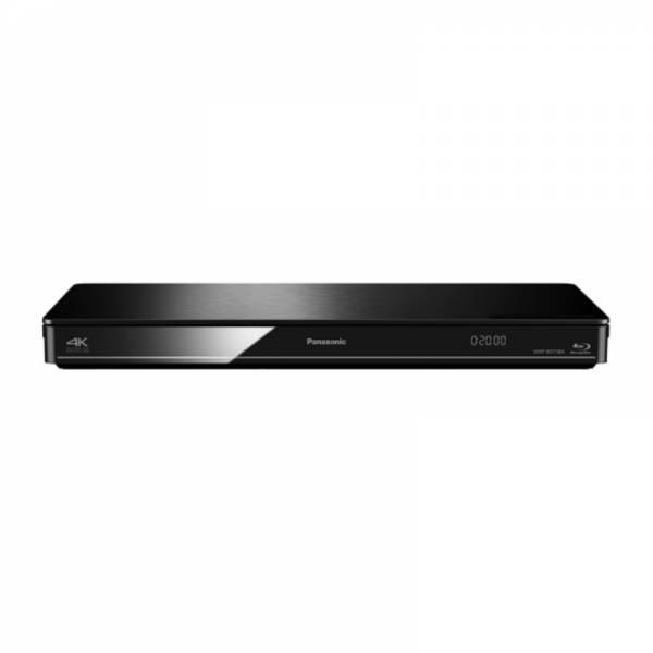 Panasonic Blu-ray Player Front Schwarz (DMP-BDT384EG)