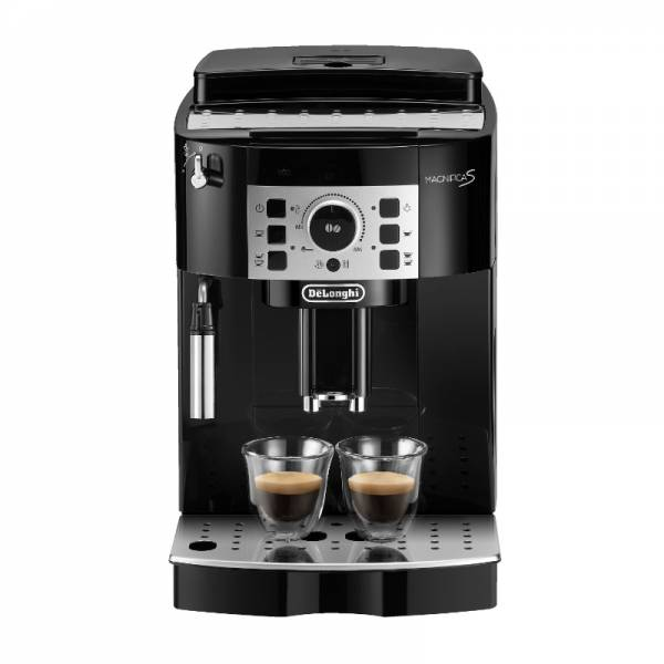 DeLonghi Kaffeevollautomat Schwarz Front (ECAM 20.116.B Magnifica S)