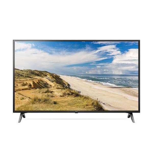 LG Fernseher Front mit Bild Schwarz (55UM71007LB)