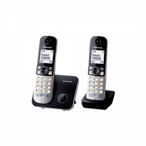 Panasonic KX-TG 6812 Schnurloses DECT-Telefon Front Set