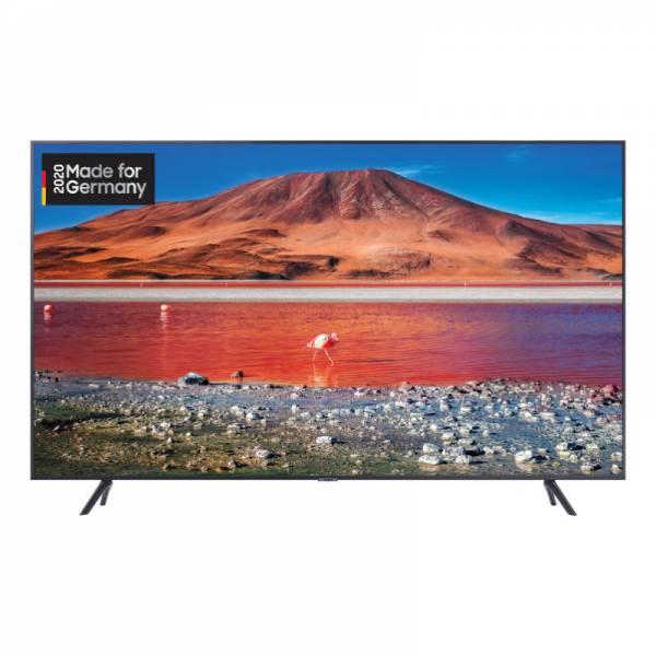 Samsung Fernseher Schwarz Front (GU55TU7199UXZG)
