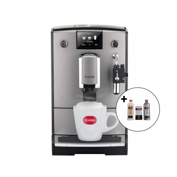NICR 675 CafeRomatica incl. Reinigungset (Kaffeevollautomat)