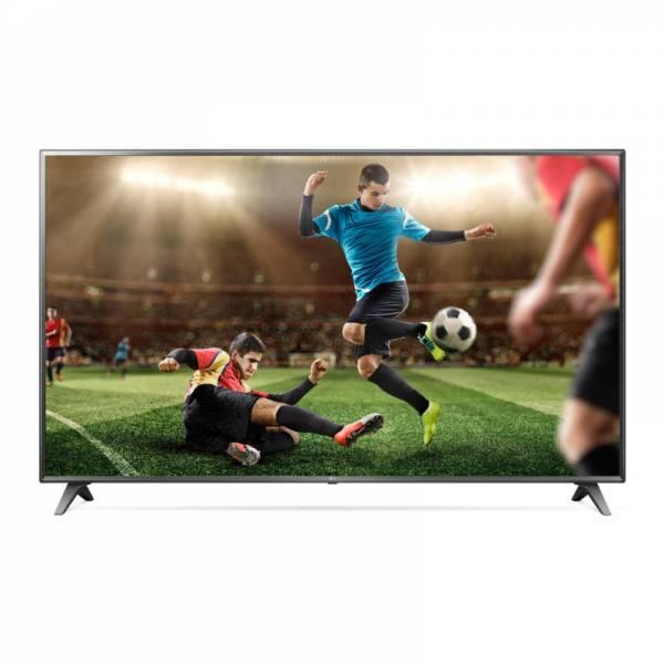 LG Fernseher Front mit Bild Schwarz (75UM7050PLF)