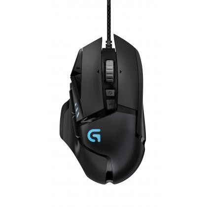 G502 Proteus Spectrum RGB Tunable Gaming Mouse - USB - EER2