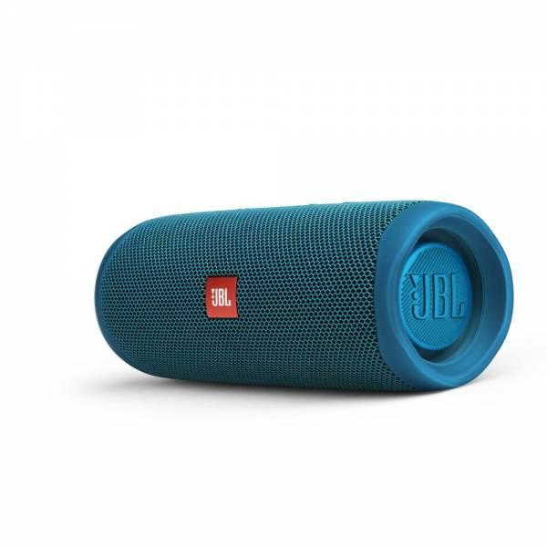 JBL Flip 5 Eco blau Mobiler Lautsprecher Seite