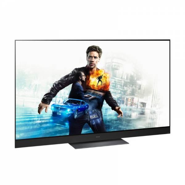 Panasonic Fernseher Abgewinkelt Links Schwarz (TX-55HZW2004)