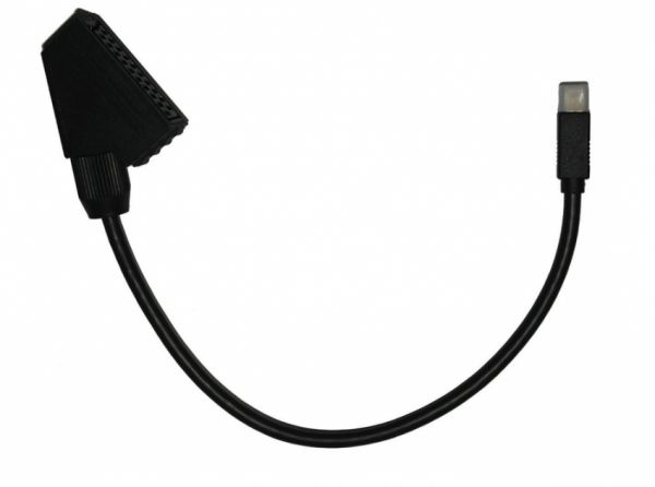 Adapter Micro-AV-SCART