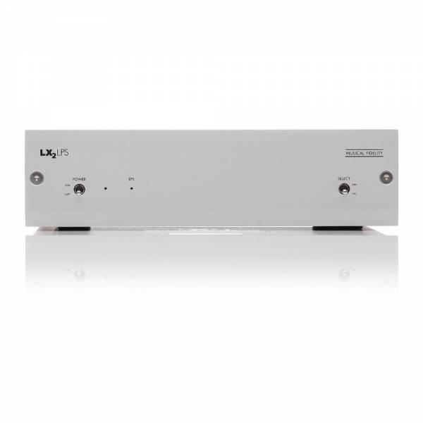 Musical Fidelity LX2-LPS Silber Phonovorverstärker Front