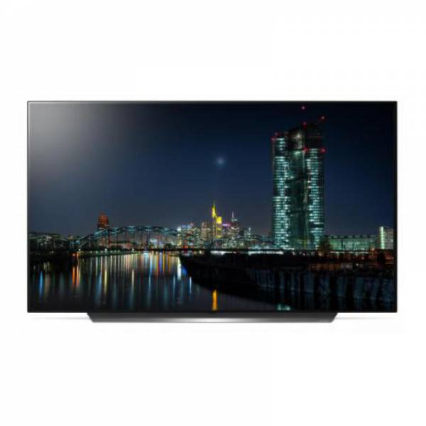 LG Fernseher Front Schwarzb (OLED55C97LA)