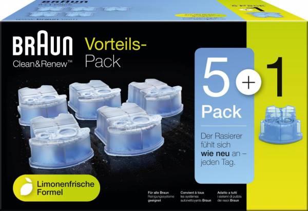 Clean und Renew CCR Kartuschen 5+1 Nachfüllpackung
