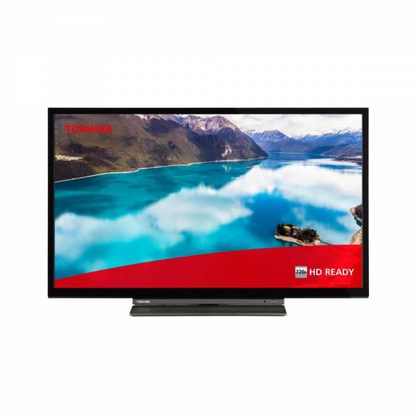 Toshiba 24WL3C63DA Fernseher Schwarz Front