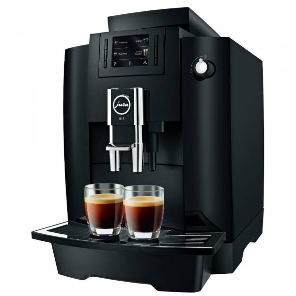 Jura WE6 Kaffevollautomat 2020 Abgewinkelt