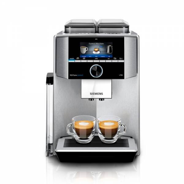 Siemens-TI9578X1DE Kaffeevollautomat Front Edelstahl