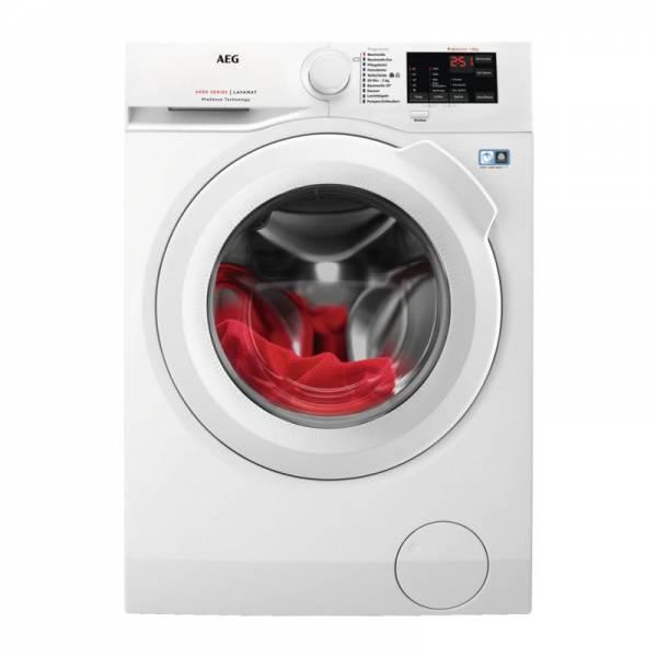 AEG Waschmaschine Front Weiß (L6FB54680)