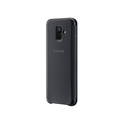 EF-WA600 Wallet Cover für Galaxy A6 schwarz