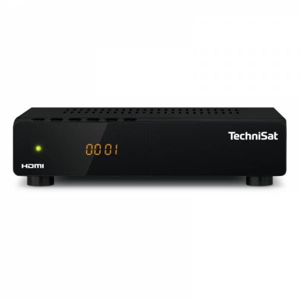Technisat Sat-Receiver Front Schwarz (HD-S 222)