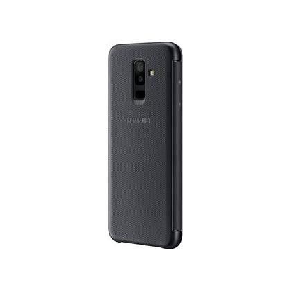 EF-WA605 Wallet Cover für Galaxy A6+ schwarz