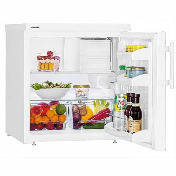 Liebherr TX 1021-21 Tischkühlschrank Front Offen mit Inhalt