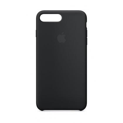 iPhone 8 Plus Silikon Case schwarz
