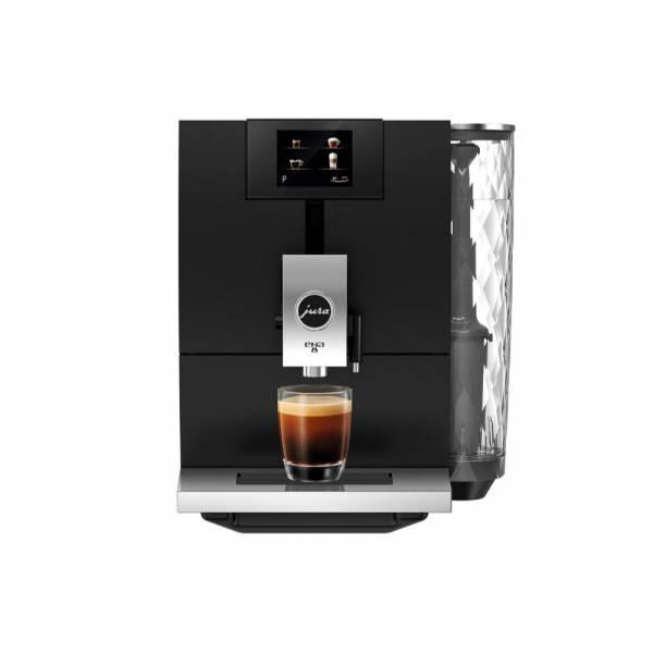 JURA ENA 8 Full Metropolitan schwarz Kaffeevollautomat Front