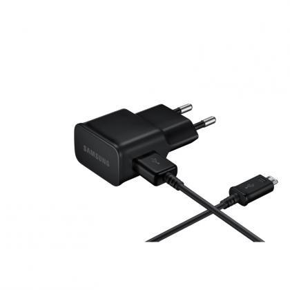 EP-TA12 Ladekabel + Adapter 2A schwarz