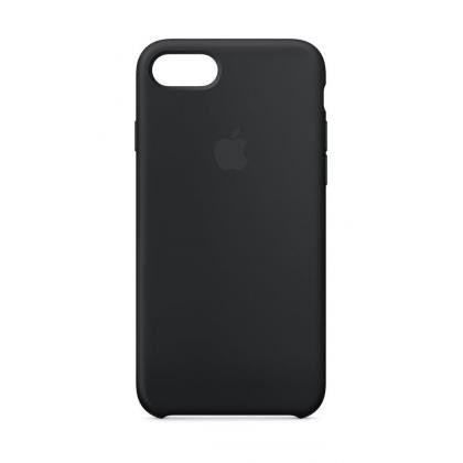 iPhone 8 Silikon Case schwarz