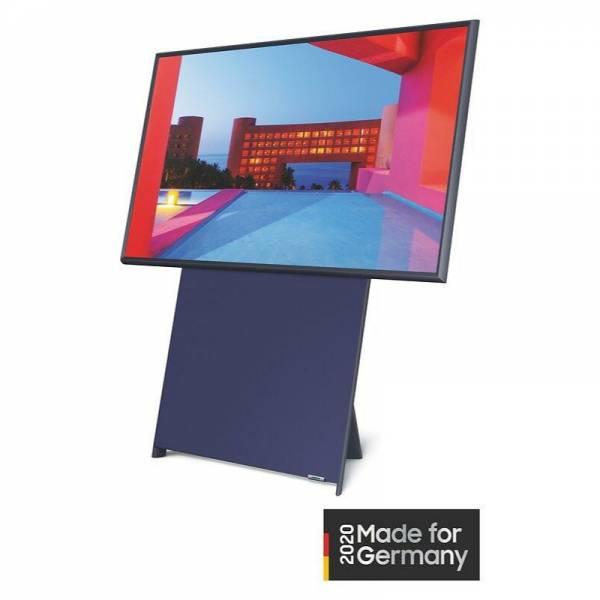 Samsung Fernseher Abgewinkelt Rechts Horizontal Dunkelblau/Schwarz (GQ43LS05T)