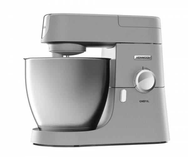 KVL 4100S Chef XL (6,7 Liter, 1200 Watt, stufenlos, Patisserie, Edelstahlschüssel)