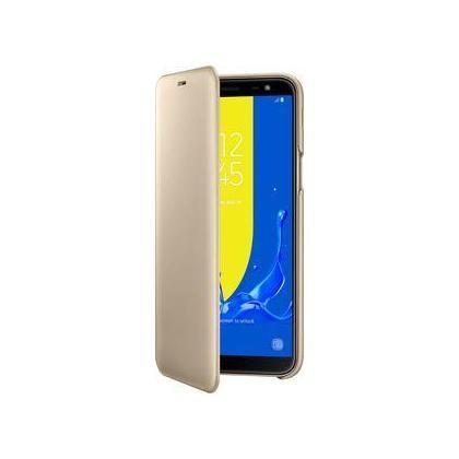 EF-WJ600 Flip Wallet für Samsung Galaxy J6 (2018) gold