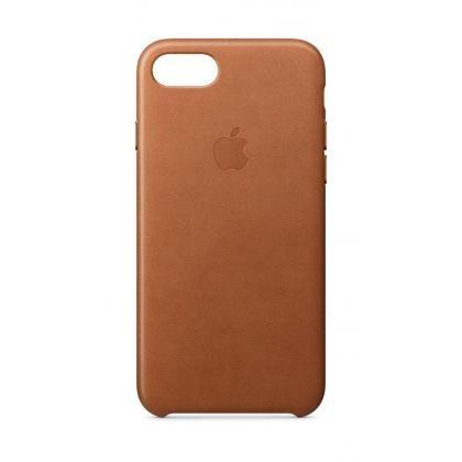 iPhone 8 Leder Case sattelbraun