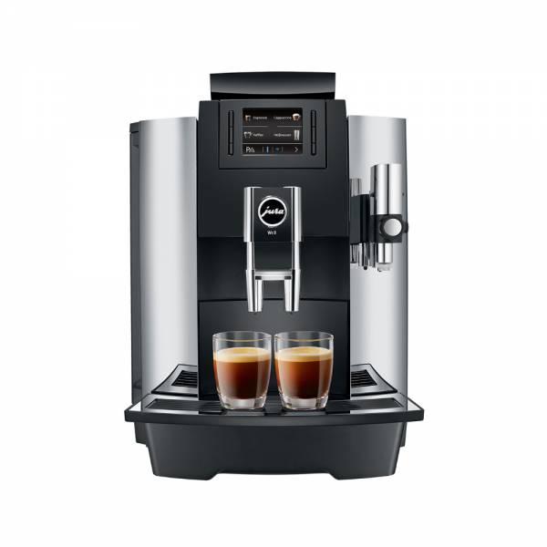 Jura WE-8 Kaffeevollautomat Chrome Front