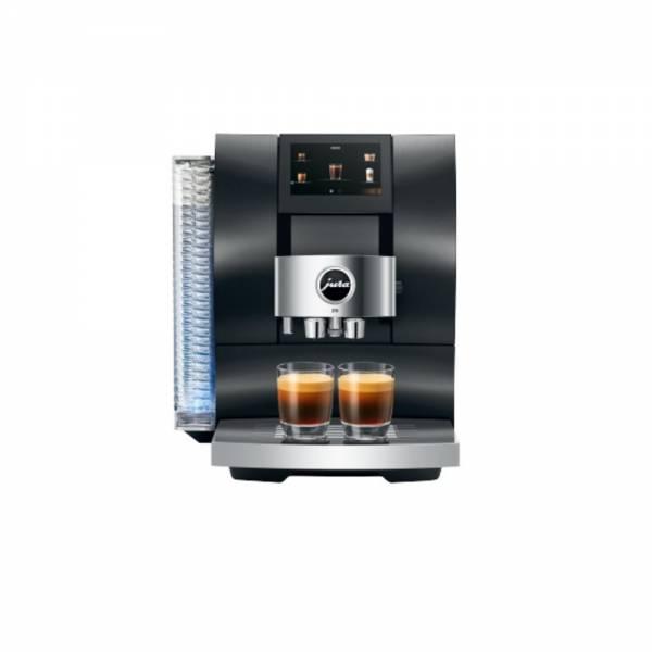Jura Z10 Aluminium Black (EA) Kaffeevollautomat Front