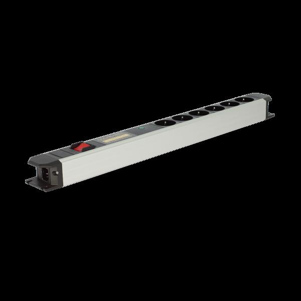 edition Powerline Flex 6er Vollschutz mit Schalter
